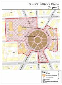 Proposed Grant Circle Historic District