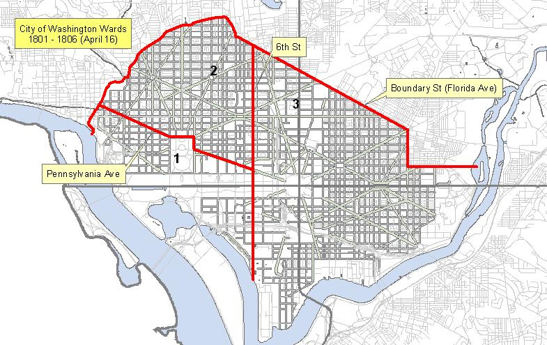 Maps of City of Washington Wards 1801-1871 | Washington DC ... Map Of Pennsylvania Showing Dc on ne map of pennsylvania, state map of pennsylvania, usa map of pennsylvania, clear map of pennsylvania,