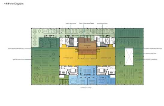 New MLK 4th Floor plan