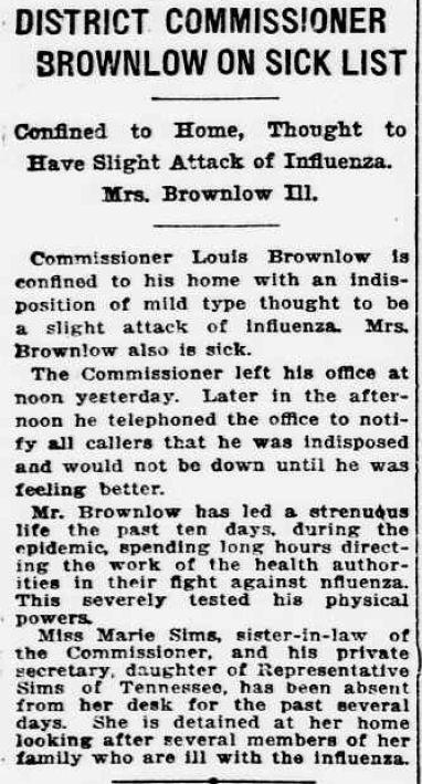 Oct191918starbrownlowsick